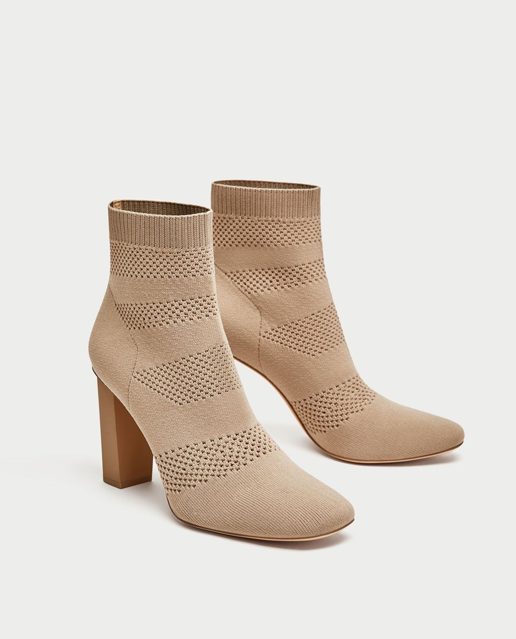 bd57a767a2aa FABRIC HIGH HEEL ANKLE BOOTS-View all-SHOES-WOMAN