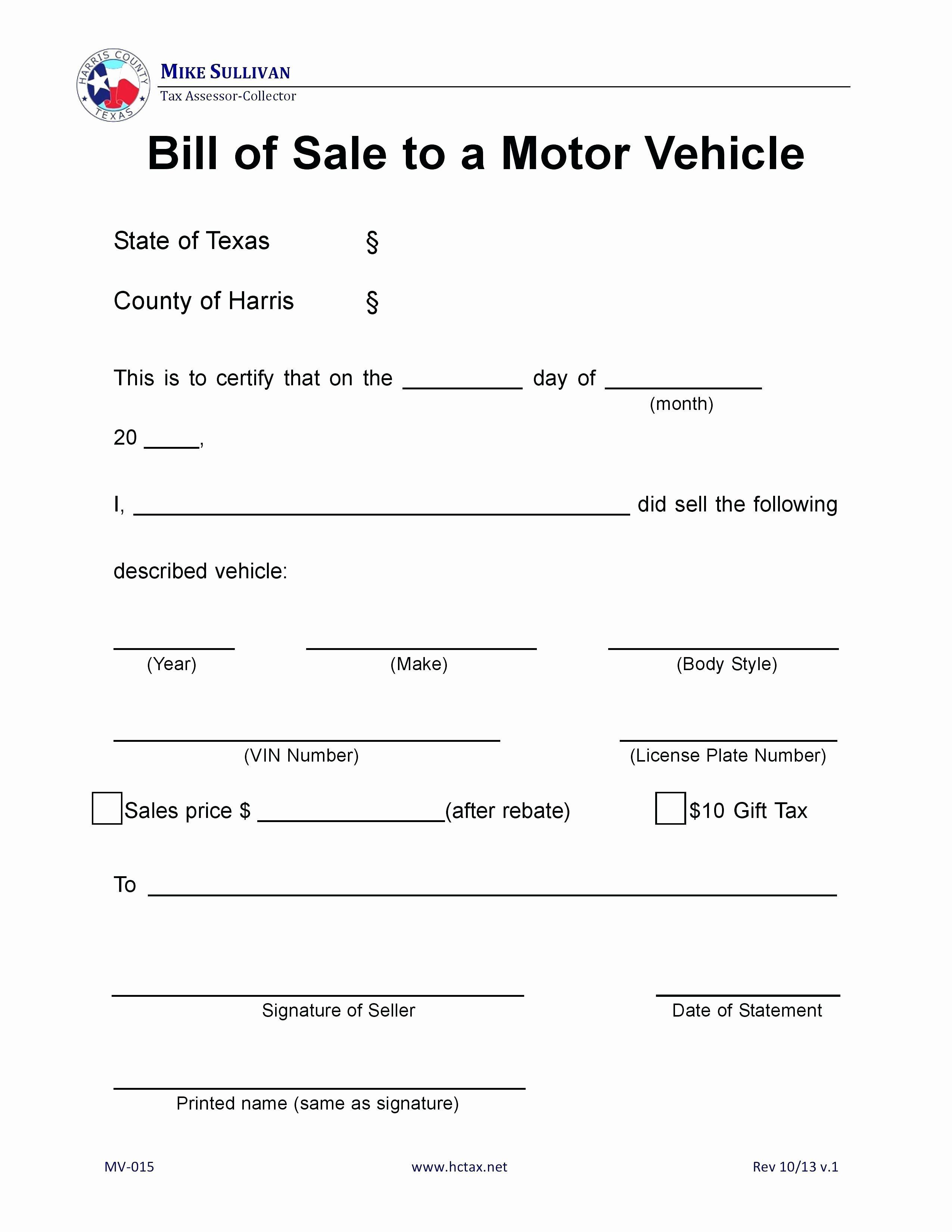 Printable Bill Of Sale Ga Inspirational Free Printable Bill Of Sale Form Omtimes Bill Of Sale Template Bill Of Sale Car Word Template