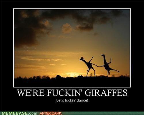 Funny giraffe cartoon meme - photo#45