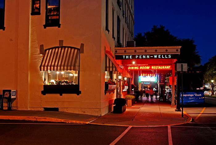 Historic Penn Wells Hotel In Wellsboro Pa 2017 Fireball Run Overnight Destination