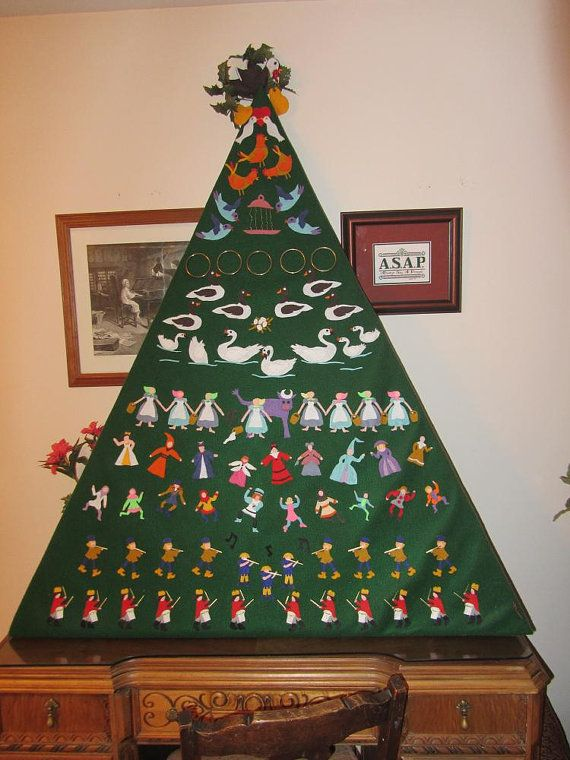 12 Days of Christmas Felt Christmas Decoration by ScrappinSisters3 ...