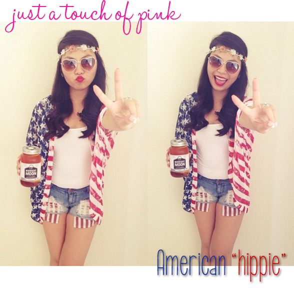 American flag outfit, perfect for 4th of July!