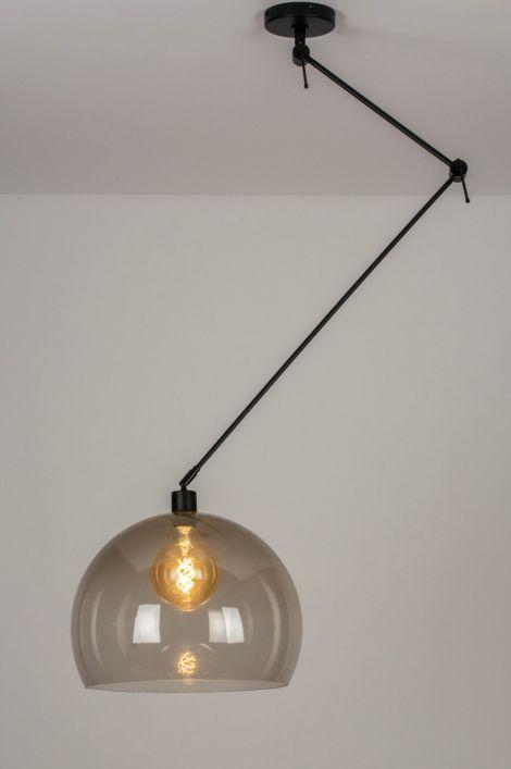 Bekend Artikel 30749 Een draaibare, extra lange, verstelbare hanglamp in PI62