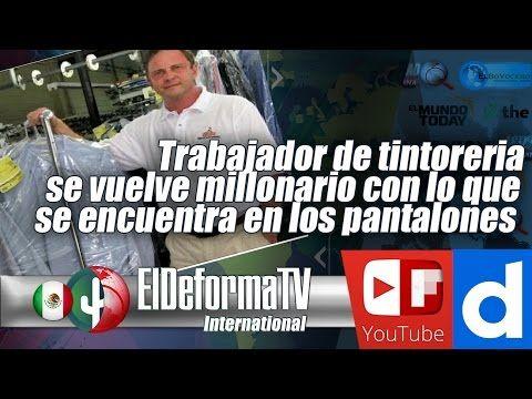 114 Trabajador de tintoreria se vuelve millonario con lo que se encuentr...