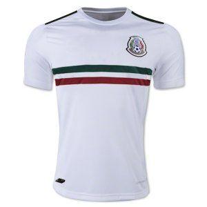 fca8cd0e1 2018 World Cup Jersey Mexico Away Replica White Shirt  BFC253 ...