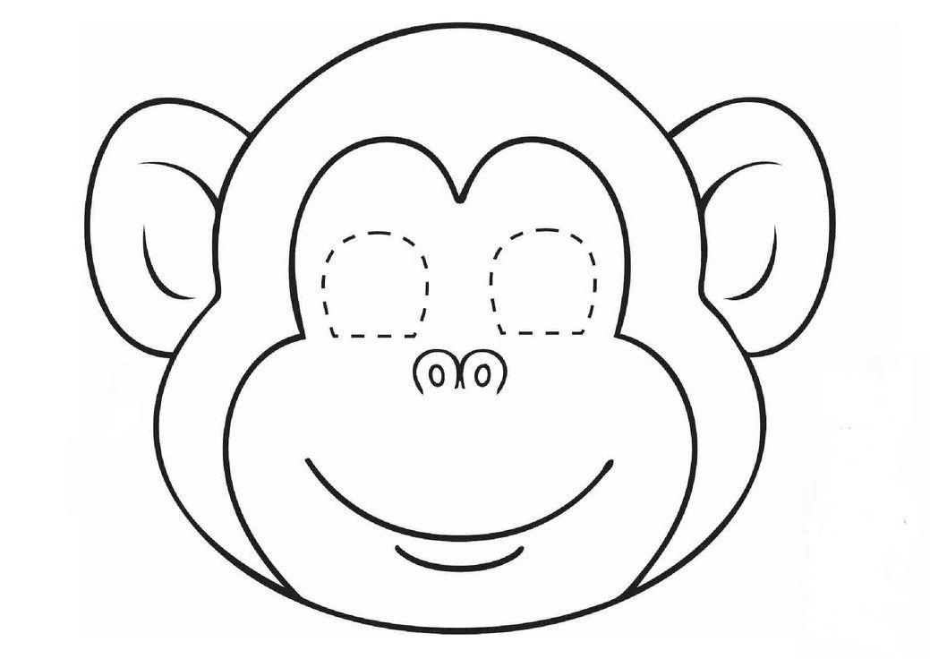 Maske Okuloncesi Sinifetkinligi Goruntuler Ile Maymunlar