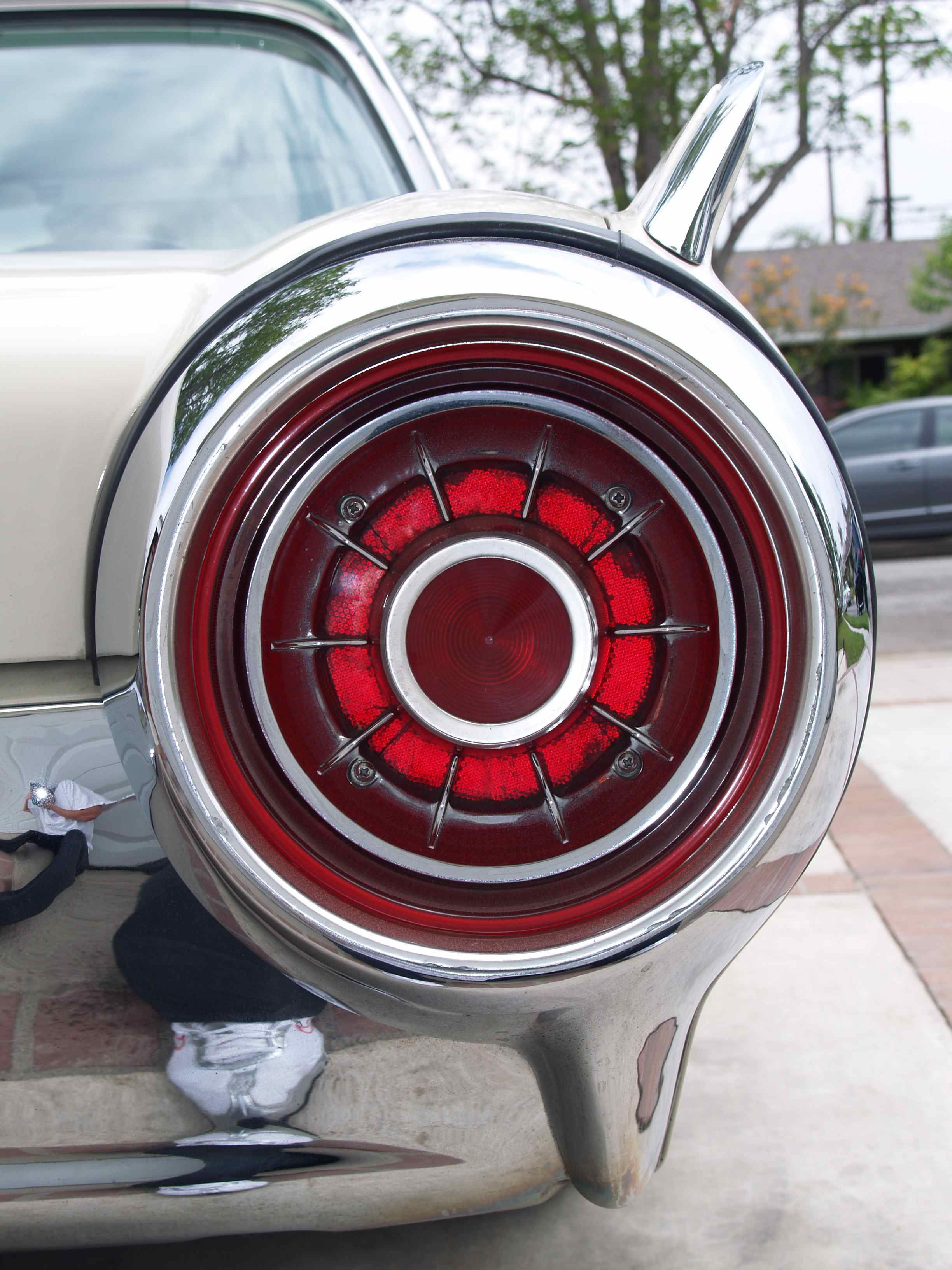 Love the jet taillights of the 1960's cars  1963 Ford Thunderbird
