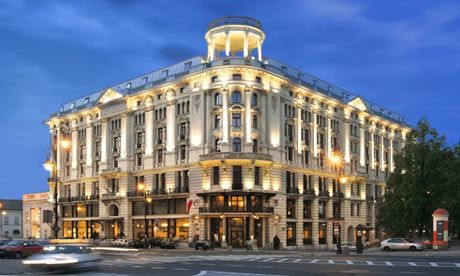 The Hotel Bristol Warsaw Poland Red To It S Pre Emminence In City