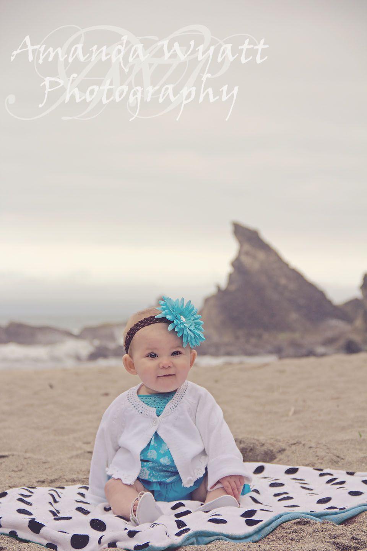 Hazy beach baby Photography ideas photo shoot for baby ...