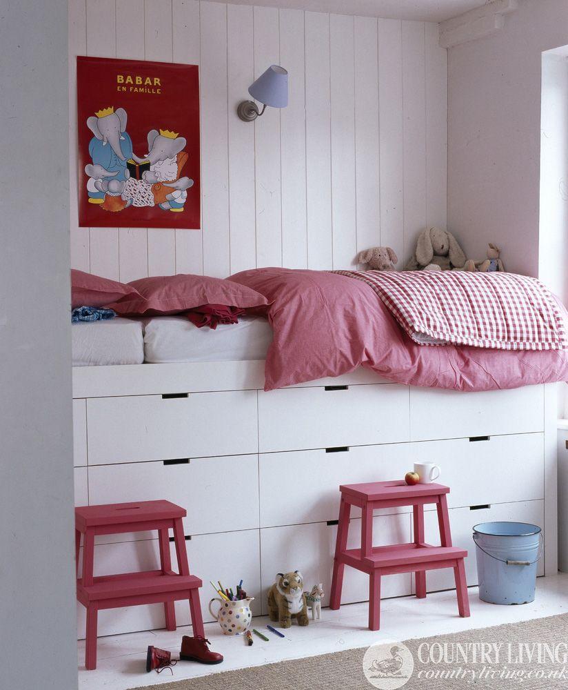 kids bedroom storage furniture Idées pour détourner un meuble IKEA | cool things | Kid beds, Kids room, Kids bedroom