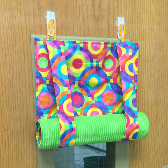 Awesome Handmade Roman Shade For Classroom Door Great Because It Quickly Unrolls In A Lockdown Situ Classroom Door Door Decorations Classroom Classroom Window