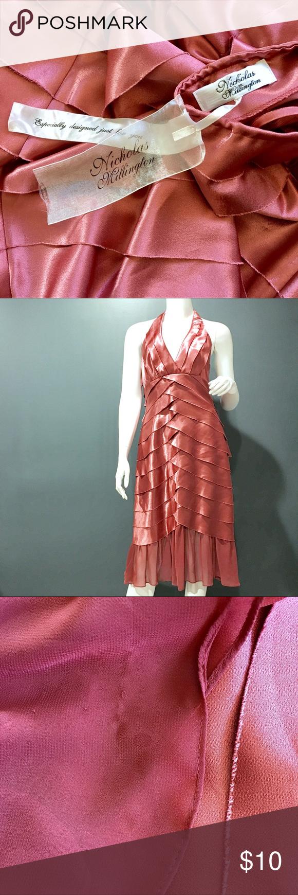 Nicholas willington custom dress