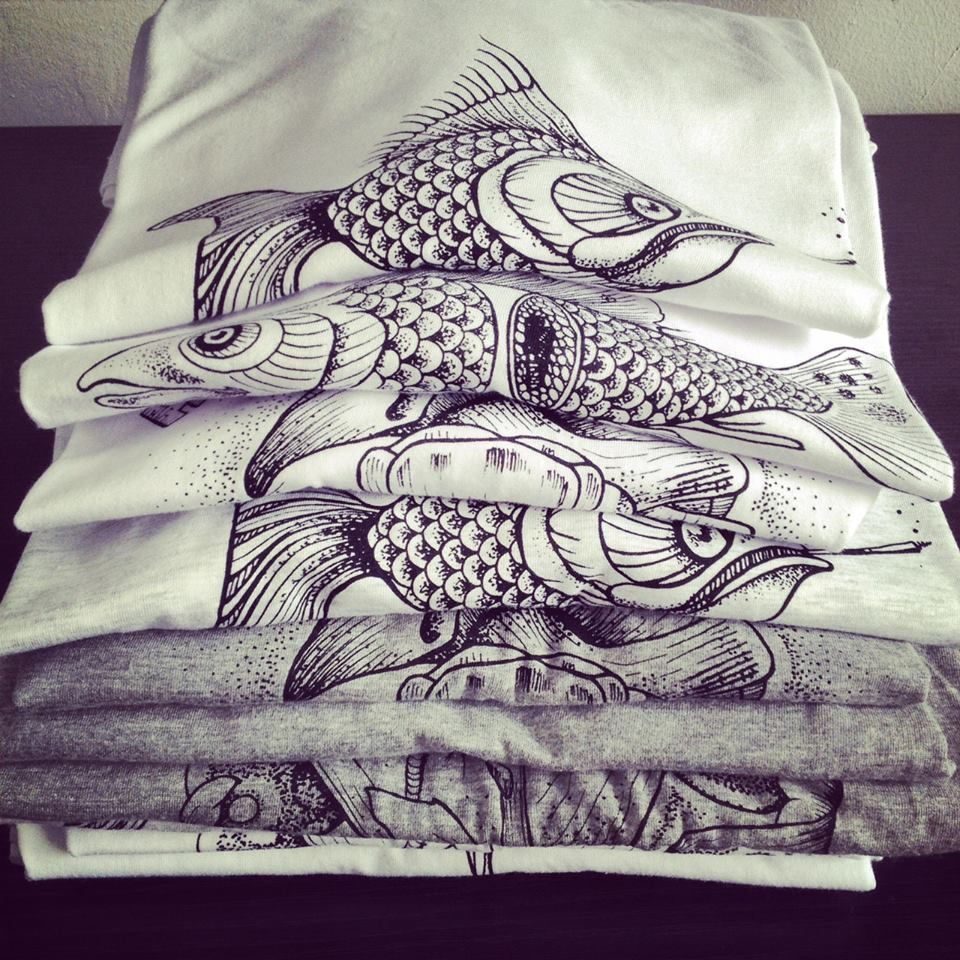 T-shirts Serigraphy Tattoo
