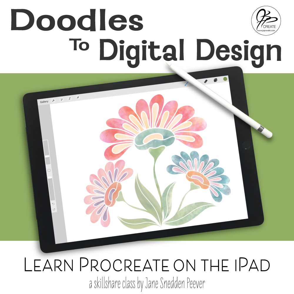 Learn Procreate on the iPad Doodles to Digital Design in