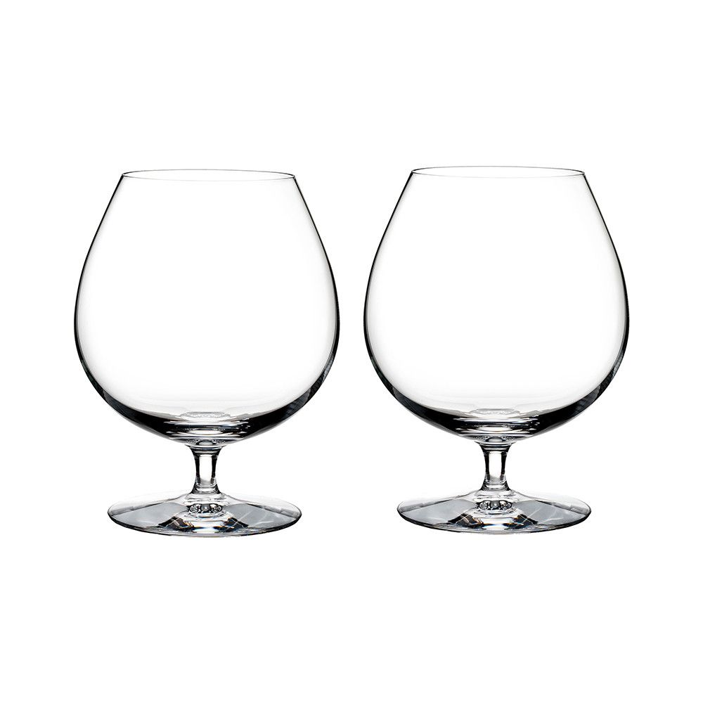 Discover the Waterford Elegance Brandy Glasses - Set of 2 at Amara