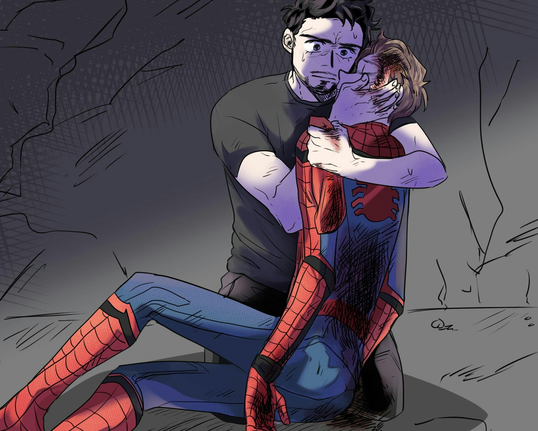 Peter Parker Angst Fanfiction