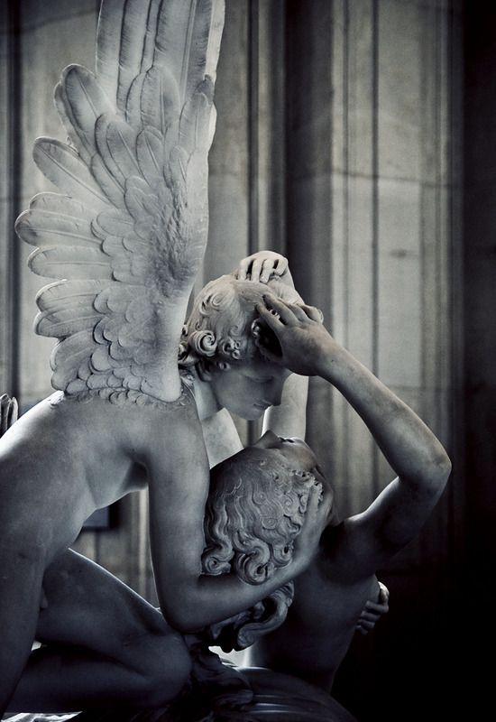 BLACK & BLUE — Eros & Psyche (by Sherwin Techico)