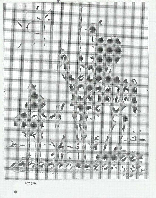 Punto de cruz de El Quijote | elefante ganesha | Pinterest | Punto ...