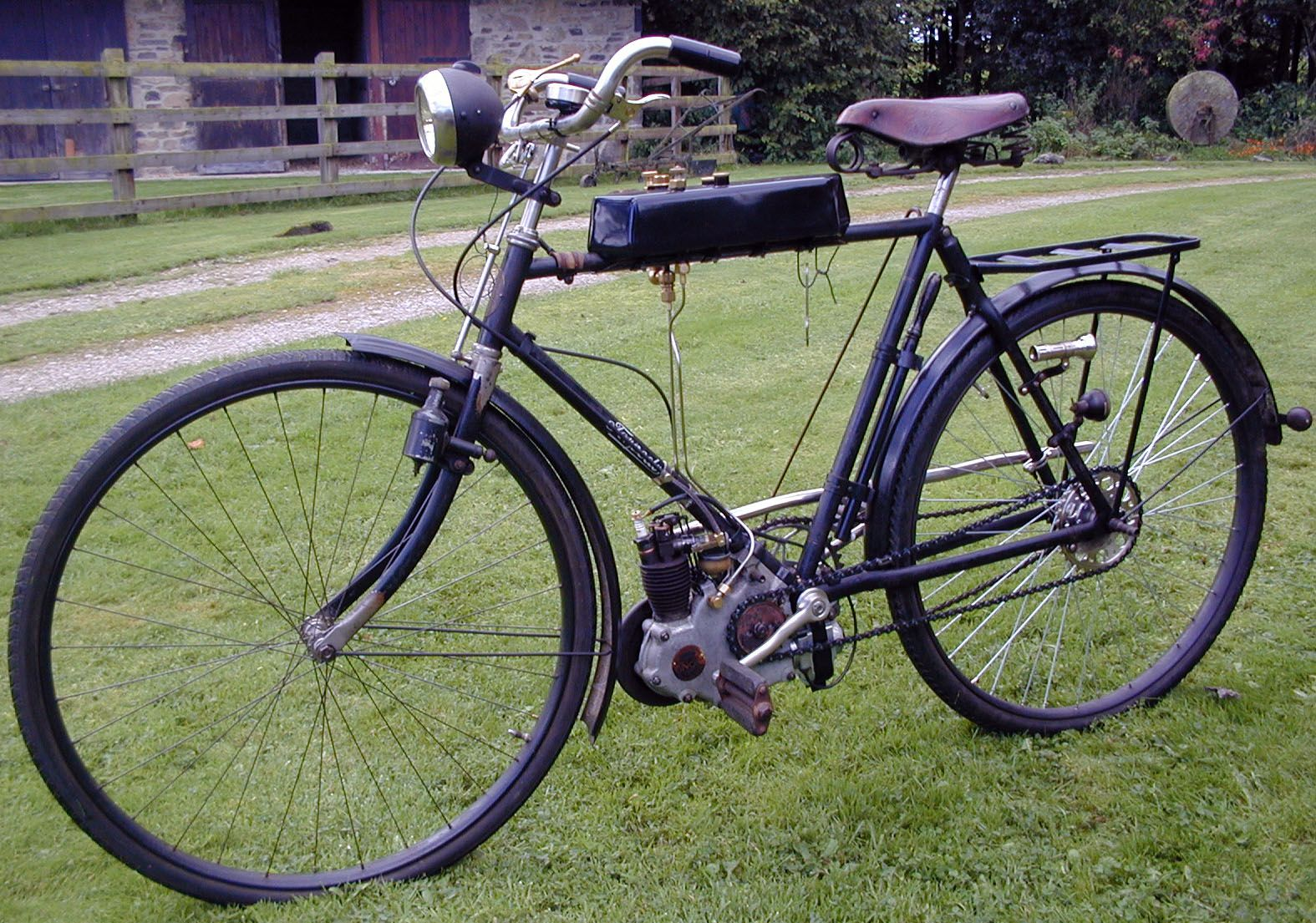 Click This Image To Show The Full Size Version Bicycle Old Bikes Motorized Bicycle