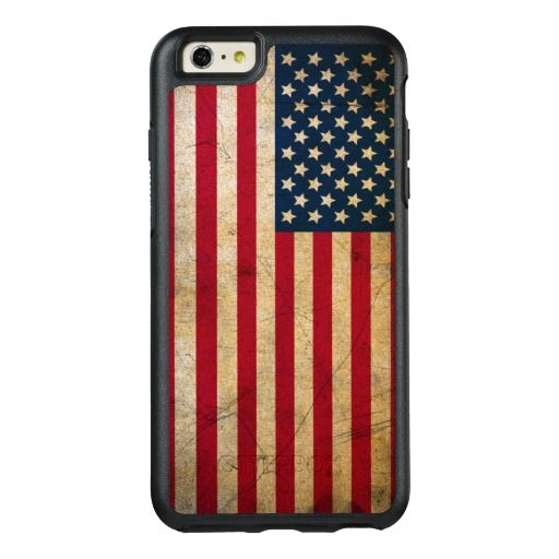 Vintage American Flag OtterBox IPhone 6 6s Plus Case