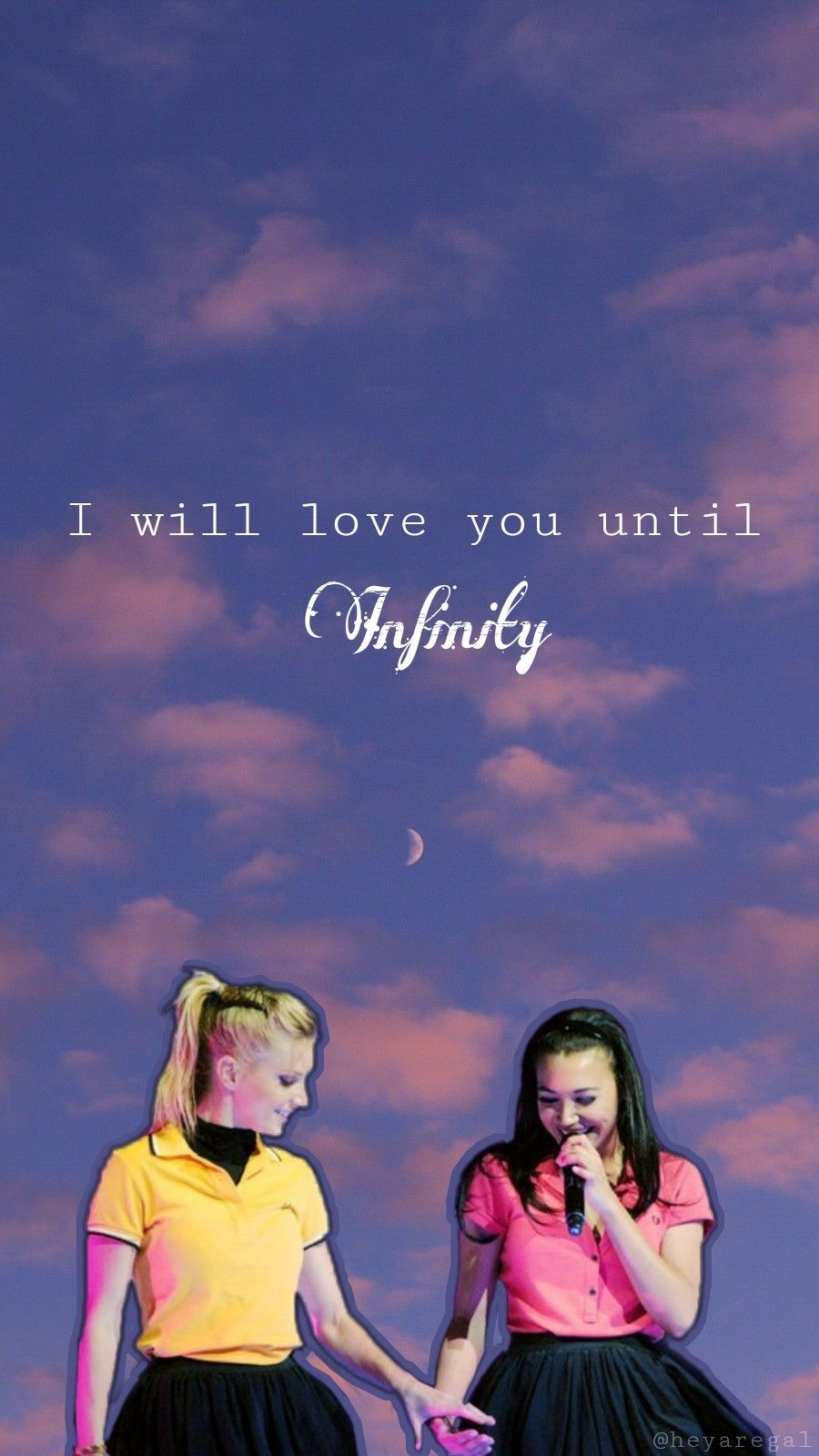 Brittana Lockscreen Made By Me Tell Me If You Like It