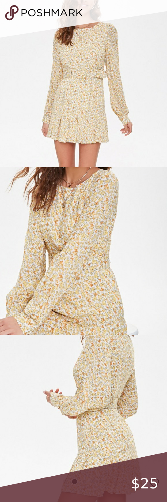 Belted Floral Fit And Flare Dress Fit And Flare Dress Fit And Flare Flare Dress [ 1740 x 580 Pixel ]