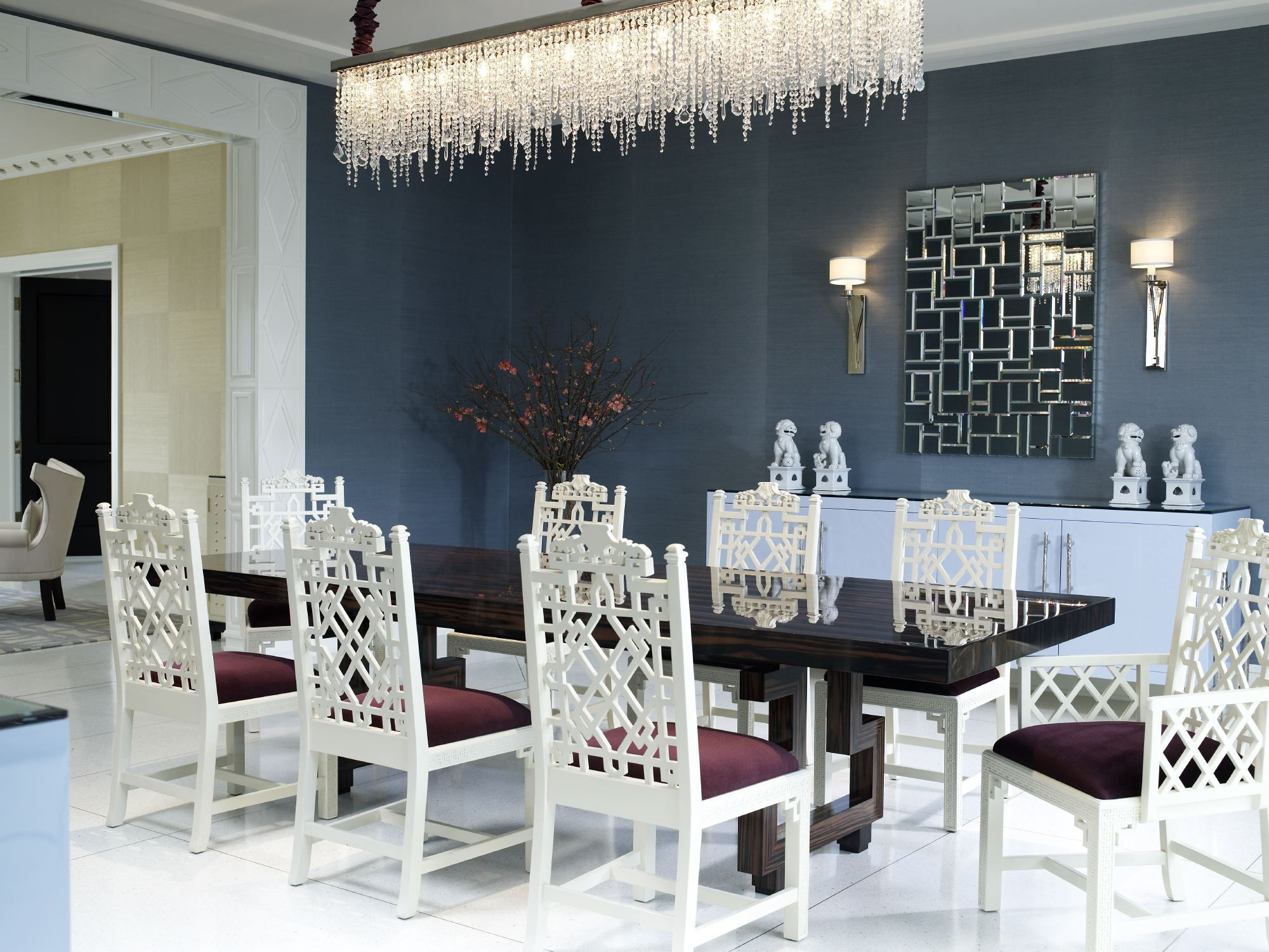 Amazing Ideas Modern Dining Rooms. Elle Decor Predicts The Color Trends for 2017  Dining Room decor