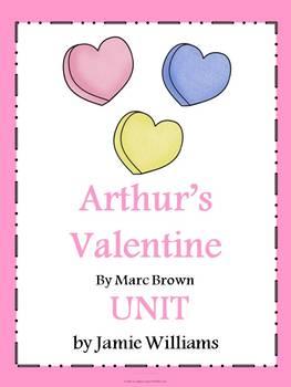 arthur 39 s valentine book unit valentine 39 s day language arts ideas valentines day book. Black Bedroom Furniture Sets. Home Design Ideas