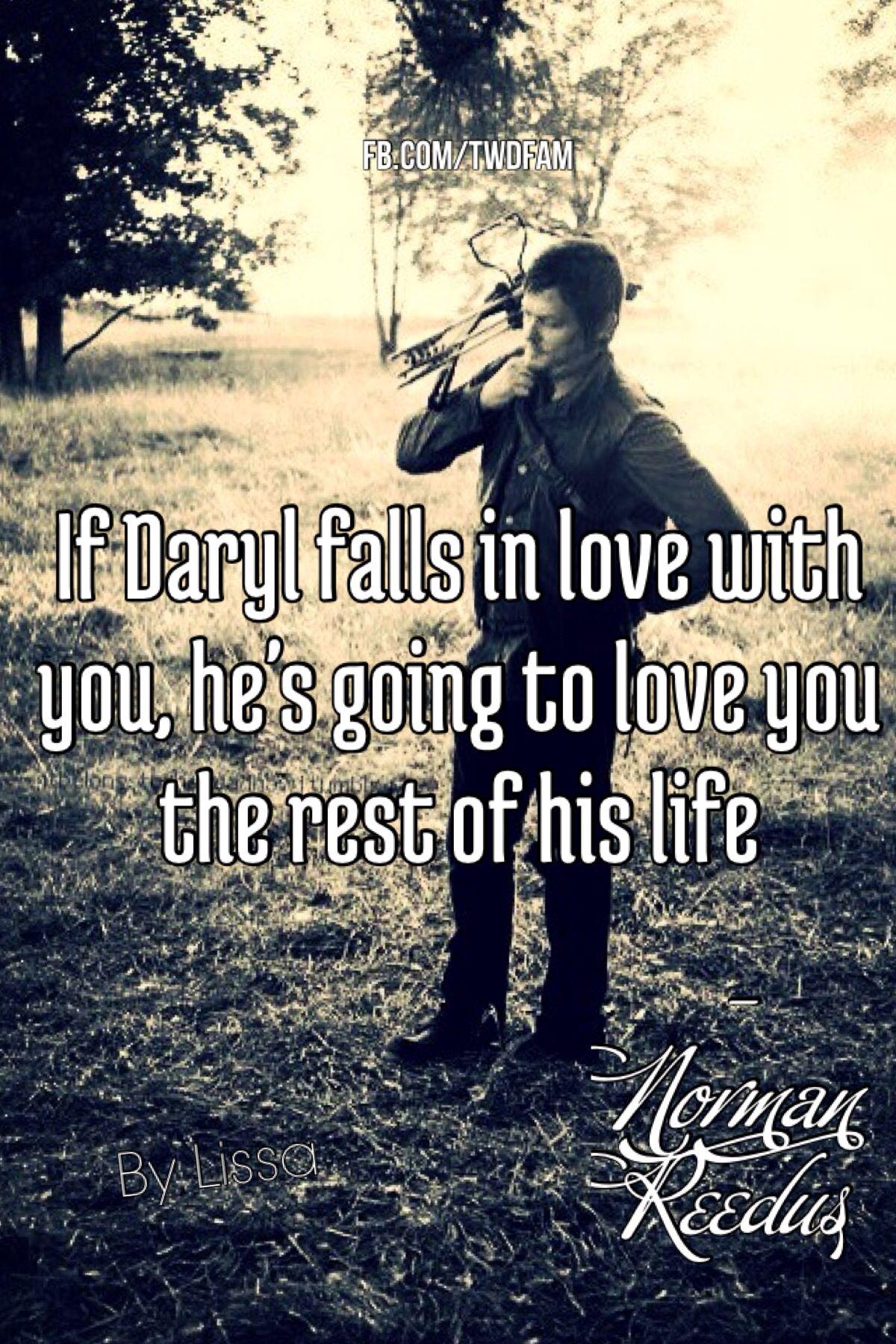 Daryl Dixon - The Walking Dead>>> Dear  Daryl: get with carol. Sincerely: everyone