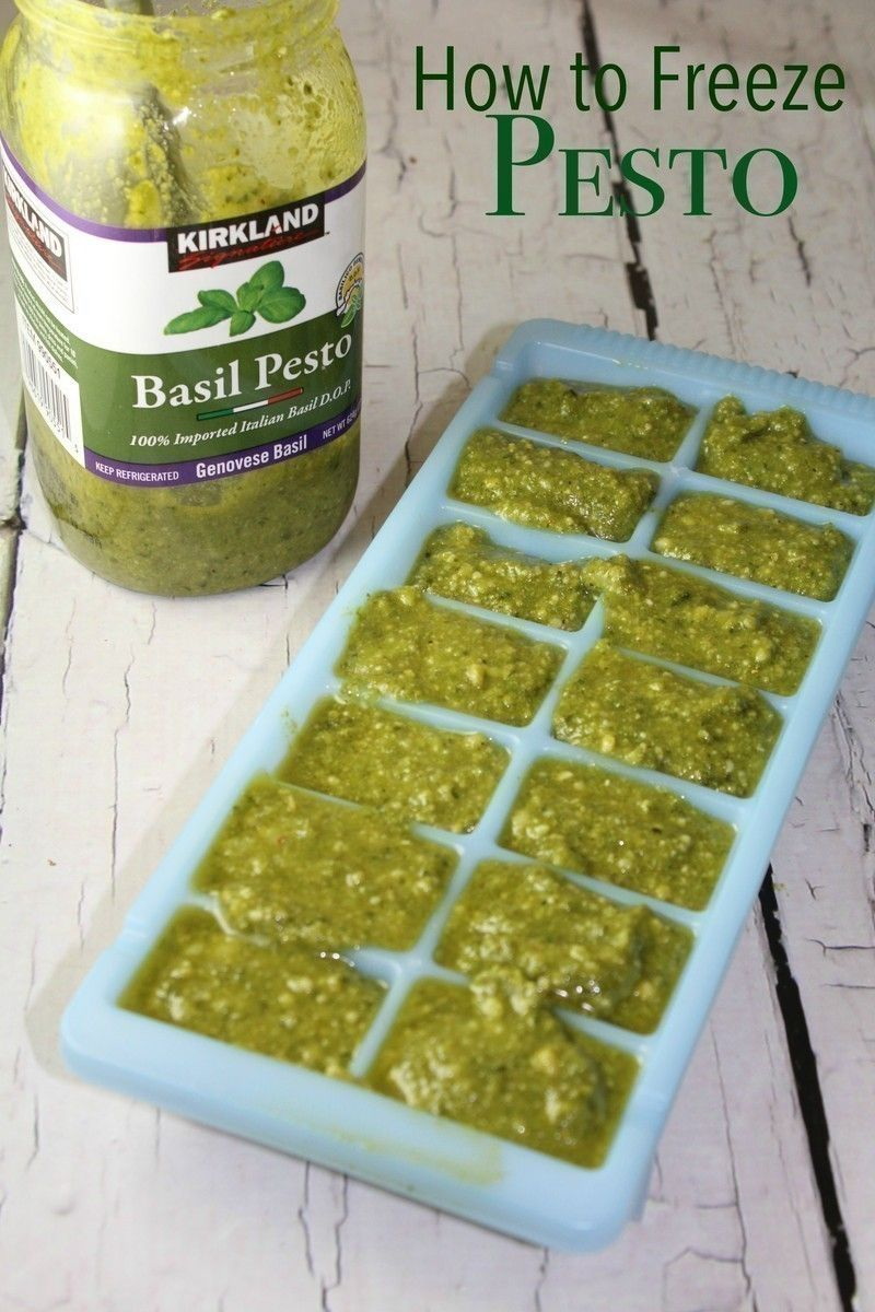 how to freeze pesto  the centsable shoppin  freezing