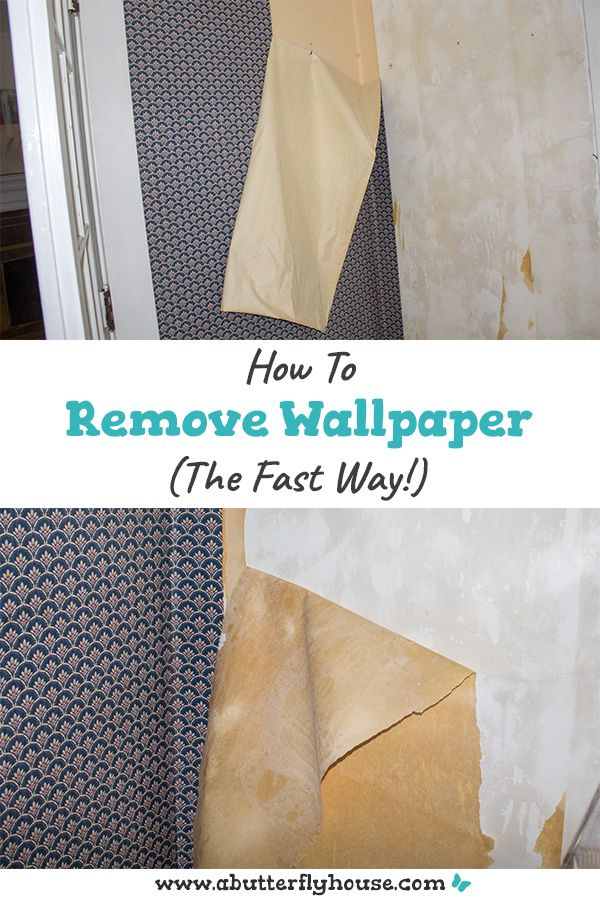 Removing Wallpaper Quickly Removable Wallpaper Home Improvement Projects Diy Wallpaper