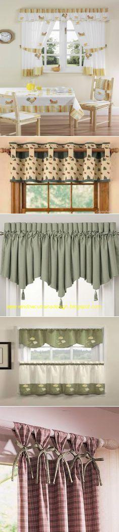 cortinas para la cocina ideas