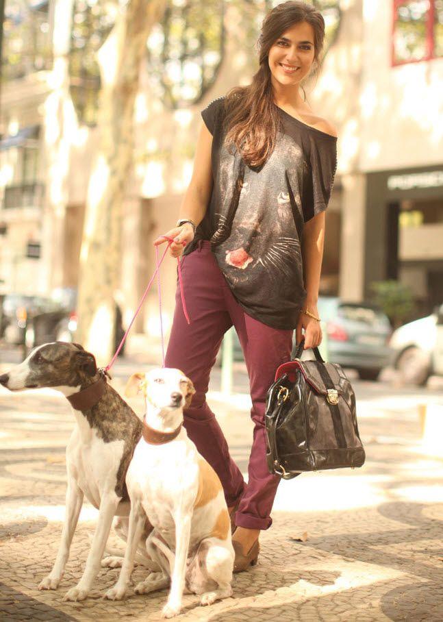 My Style:  Bummin' around clothes.