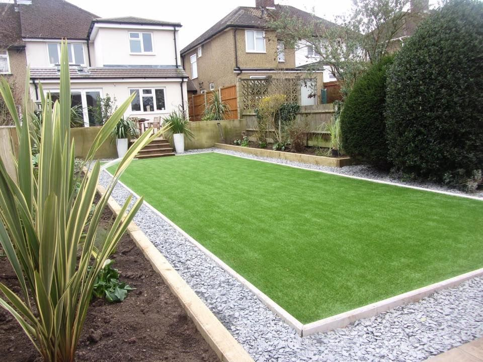 how to install artificial turf in backyard