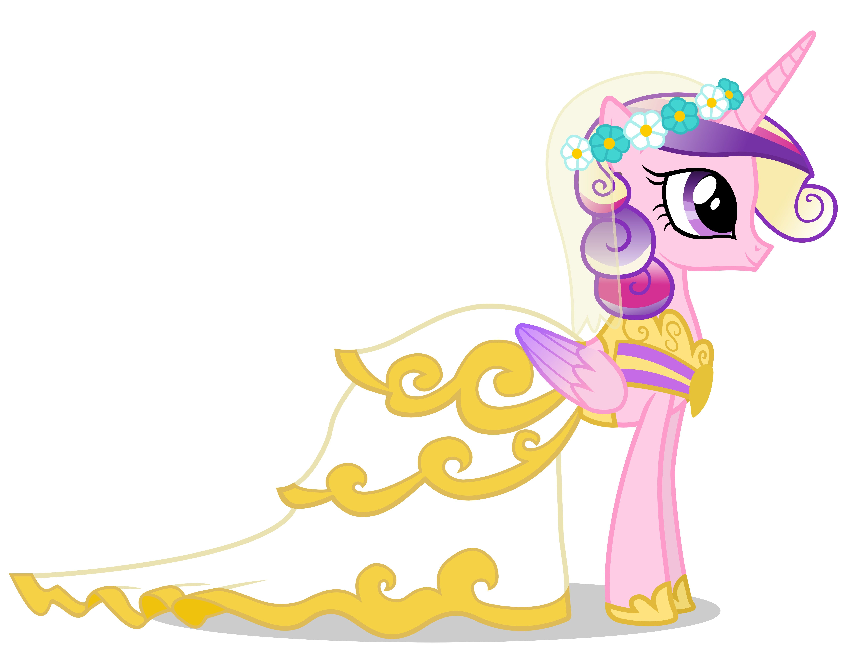 Princess Cadence: Canterlot Wedding Cadence Dress Princess Wedding At Websimilar.org