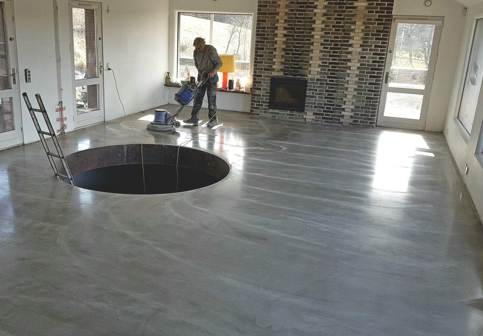 Poleret betongulv er tidsløst og god boliginspiration   CS Colorscreed betongulve