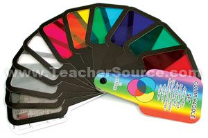 Color Filter Paddles | K-3 Science Experiments and Teaching Tools