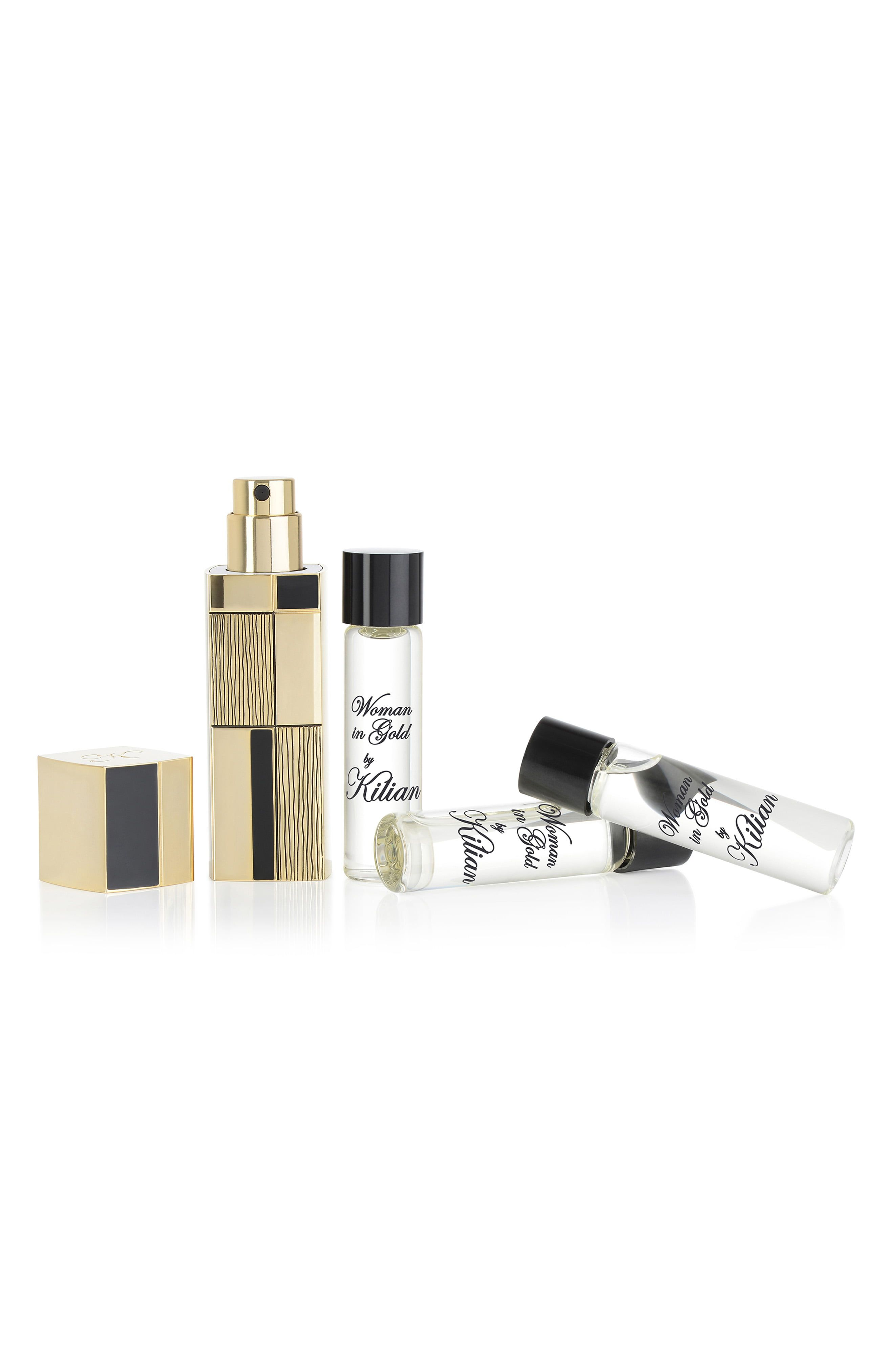 d33f13244a2b Kilian Woman In Gold Travel Spray Set in 2019   Products   Woman in ...