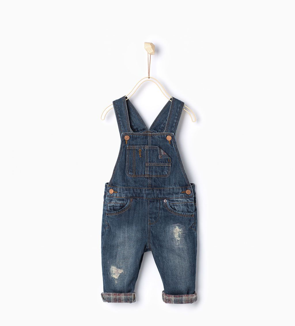 ZARA - KIDS - Denim dungarees | Bh Kids | Pinterest