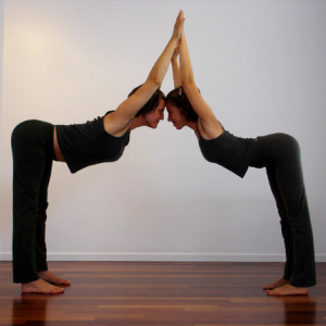 Yoga Picture Two Person Yoga Challenge Poses