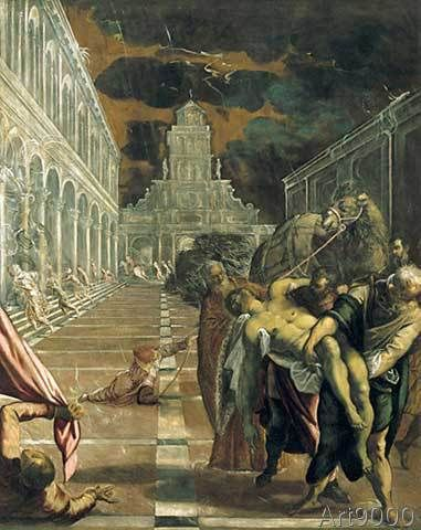Jacopo+Robusti+Tintoretto+-+The+Stealing+of+the+Body+of+St.Mark