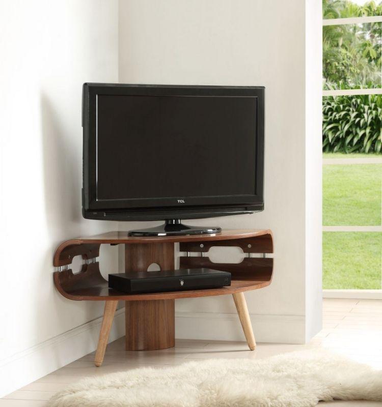 Jual Walnut Corner Tv Stand Jf701 Corner Tv Stand Corner Tv Corner Tv Stands