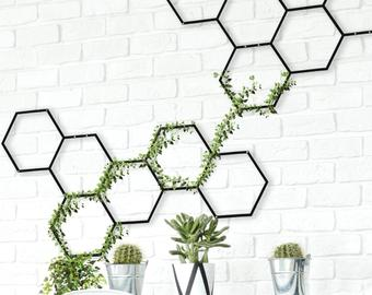 Privacy Screen Metal Wall Art Illusion Cyclone Metal Etsy Indoor Plant Hangers Wall Planters Indoor Wall Plant Holder
