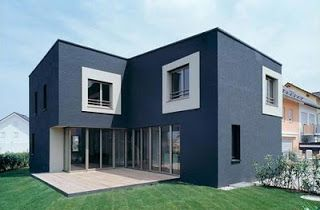 Modern Simple Angular Cubic Small House Design   Home Improvement  Inspiration