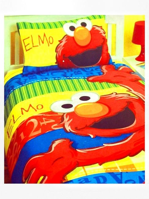 Bedding For My Daughter, Who LOVES Elmo