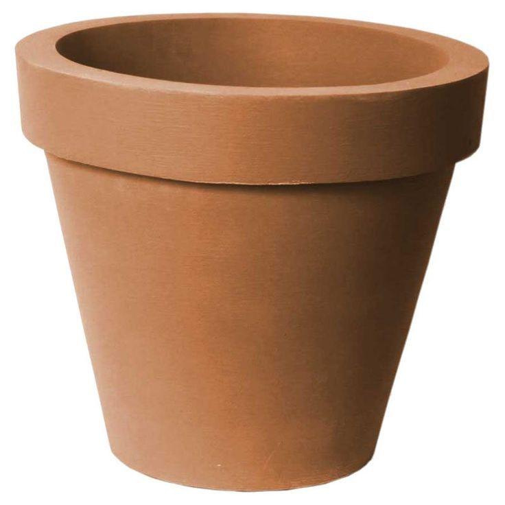 Algreen classico 20 in self watering planter terra cotta