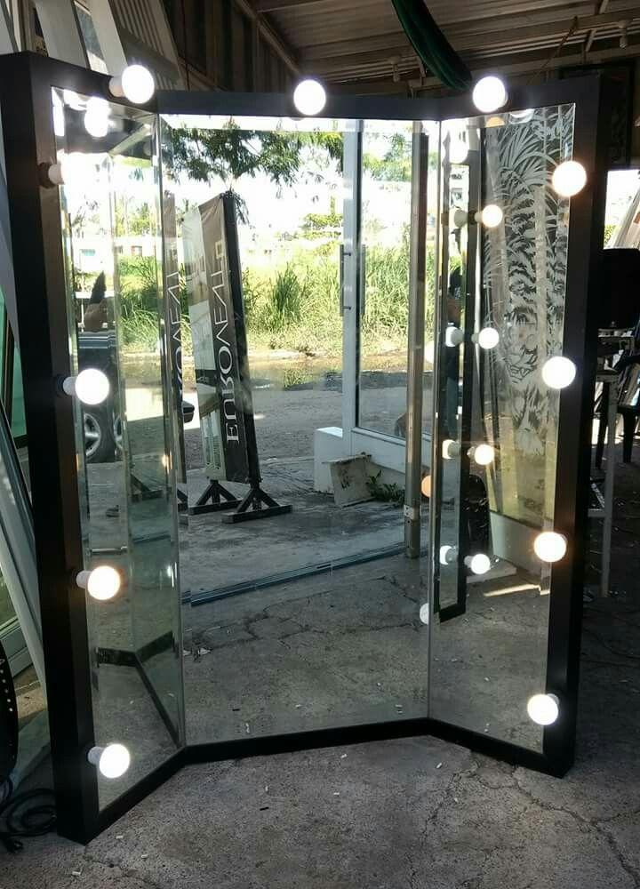Bastidor de aluminio color Duranodic Espejos de 6mm. Bicelados y ...