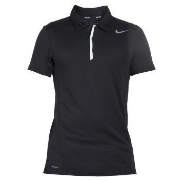 6285d5285fed7 Camiseta Nike Logo Polo Negro de Nike en Dafiti