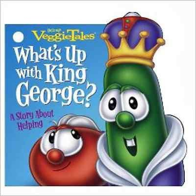 New VeggieTales Pocket Size Boardback Book With Red Belt Clip and Free Shipping