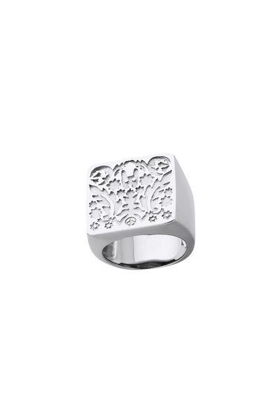933e3f2f73 Square Filigree Ring Silver - Karen Walker Jewellery | Karen Walker ...